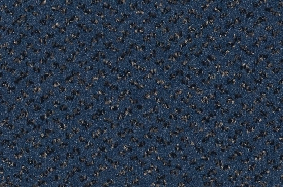 синий ковролин